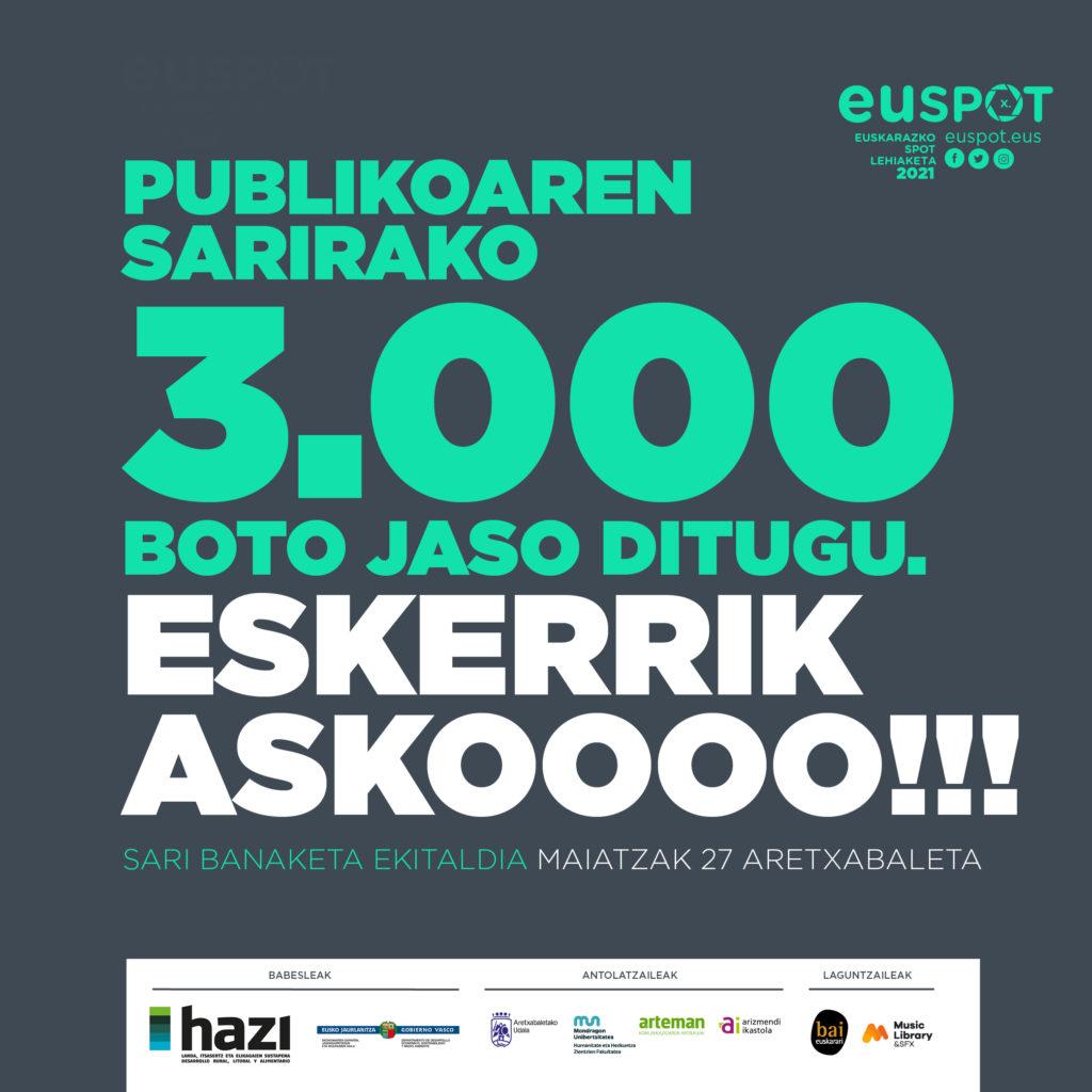 3000 BOTO